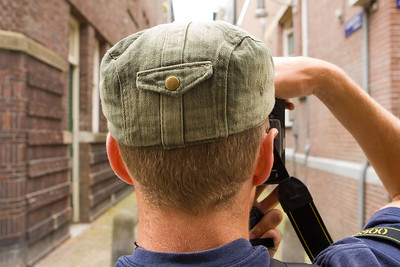 Back of a Photographer's Head