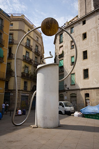 Barcelona Has Weird Stuff Like This Thing...