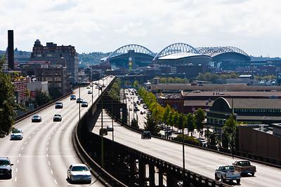 Viaduct, Wharf, and Stadiums