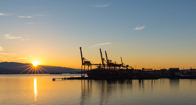 First Light in the Port