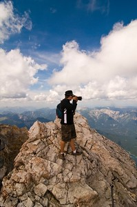 Me, Top of Zugsptize. 2009