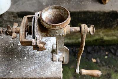 Antique Coffee Grinder, San Sebastion de Oeste, Mexico
