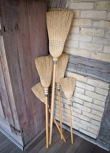 Old World Wisconsin - German Village - broom power