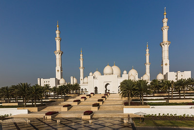 Sheikh Zayed Grand Mosque-Abu Dhabi
