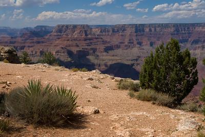 """De 'Grand Canyon"""" is indrukwekkend groot. Veel groter dan deze foto laat zien..."""