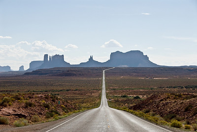 Monument valley.... we kwamen er net vandaan.
