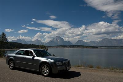 Onze fijne (en stoere) Chrysler 300.... heeft toch veel gezien tijdens die 8000 km....