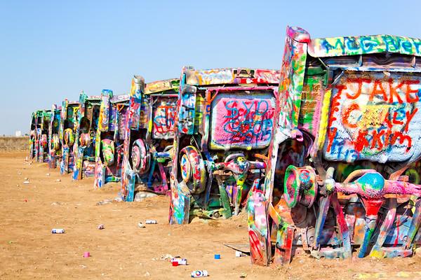 Hippies, Graffiti, and Cadillacs
