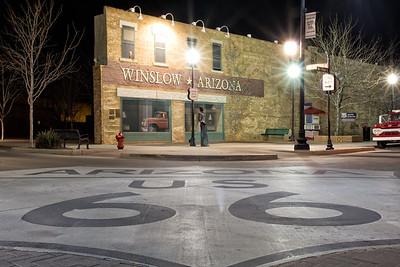 """Standin On The Corner in Winslow, Arizona"""