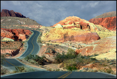 Valley of Fire Curves Nevada