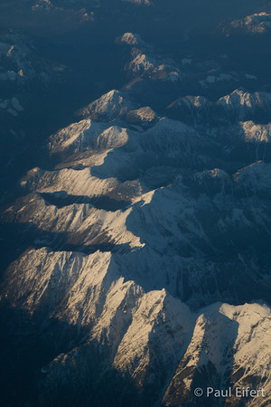 Rocky Mountain View From Above