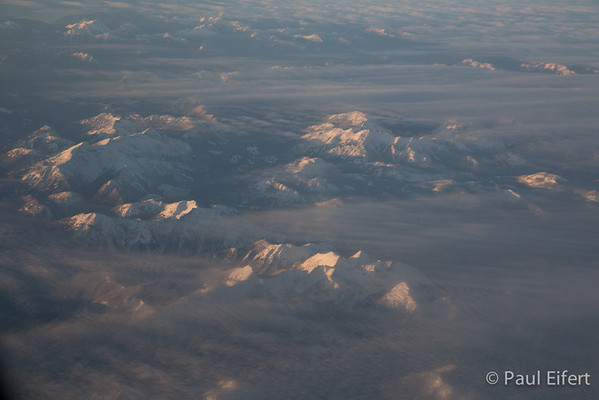 Rocky Mountain Evening Cloud