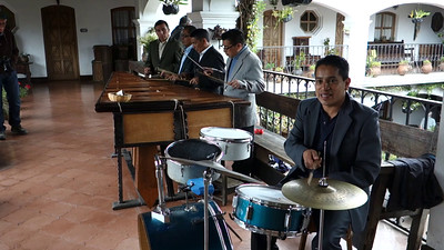 Marimba Band at Hotel Santo Tomas