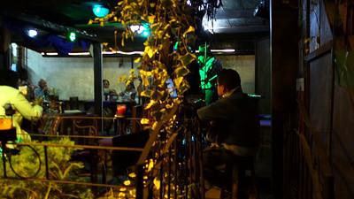 Local club in Antigua singing Guatemalan favorites