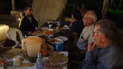 Dinner at Takalik Abaj