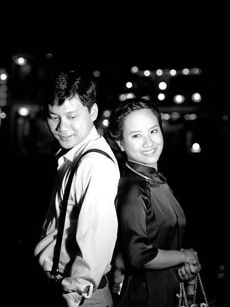 lovely couple in Hoi An