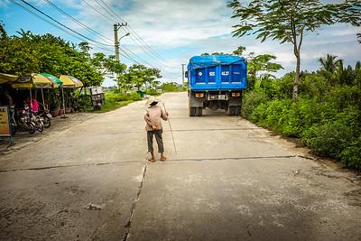Village road, Hoi An