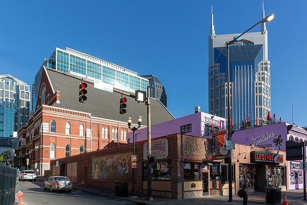The Ryman next to Music Row and Tootsies