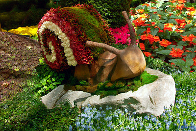 Bellagio Snail Las Vegas Nevada