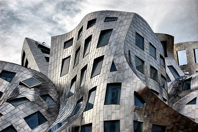 Lou Ruvo Center in Las Vegas NV. Designed by Frank Gehry