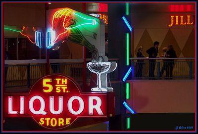5th Street Liquor Freemont Street Neon Museum