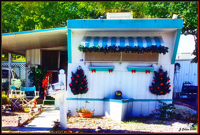 Happy Holidays from the Trailer Park! Las Vegas