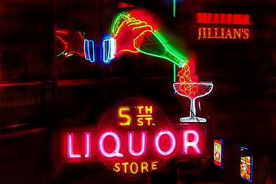 5th Street Liquor Freemont Street Neon Museum #2