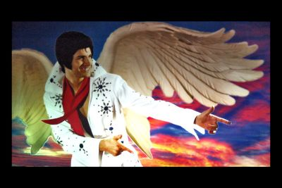 Winged Elvis