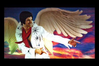 Winged Elvis