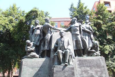 Samuel Gombers Labor statue