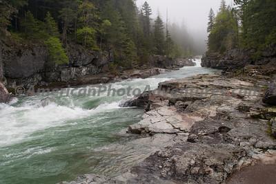 MacDonald River, Glacier NP.