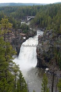Upper Falls, Yellowstone NP.