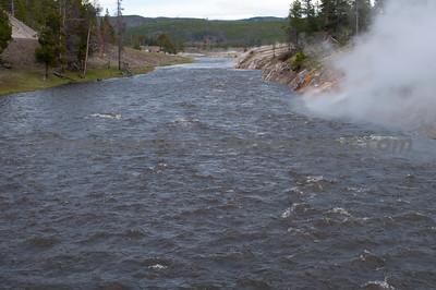 Firehole River, Yellowstone NP.