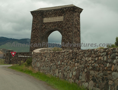 Yellowstone NP North entrance.