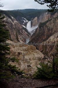 Lower Falls, Yellowstone NP.