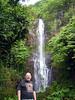 John and Wailua Falls
