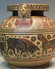 Cosmetics Container with Animals (Archaic Greek)
