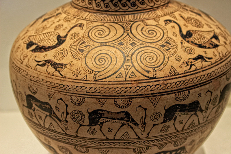 Pitcher with Geese, Dogs and Ruminants (Archaic Greek)