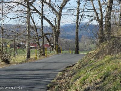 3-6-16: Wolf Ridge Road