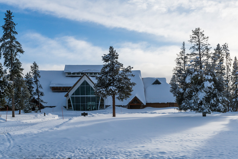Old Faithful Visitor and Education Center