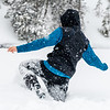 Walking in Deep Snow