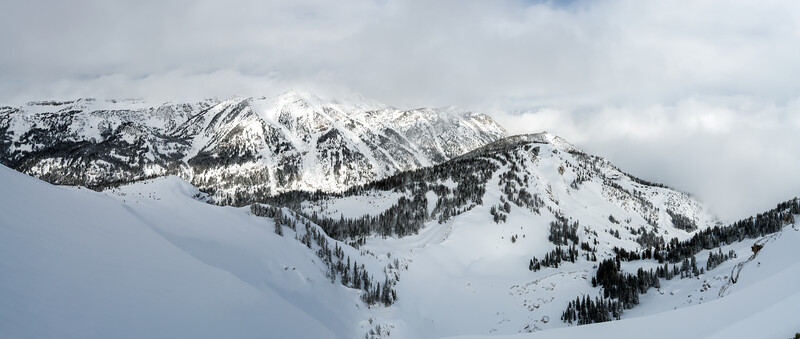 View from Summit of Rendezvous Mountain