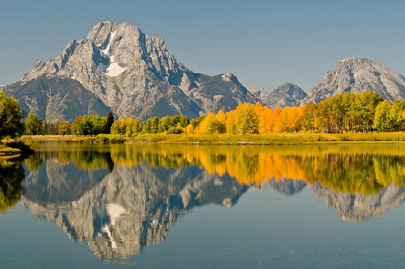 TRWY-8086: Oxbow Bend reflections