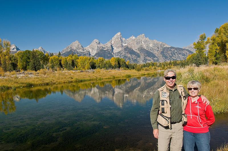 TRWY-8069: John and Lynne at Schwabacher Landing