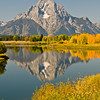 TRWY-8083: Teton Mountain reflection