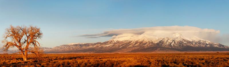 Blanca peak (14, 345ft. 7th tallest in continental US) in the Sangre de Cristo range, CO