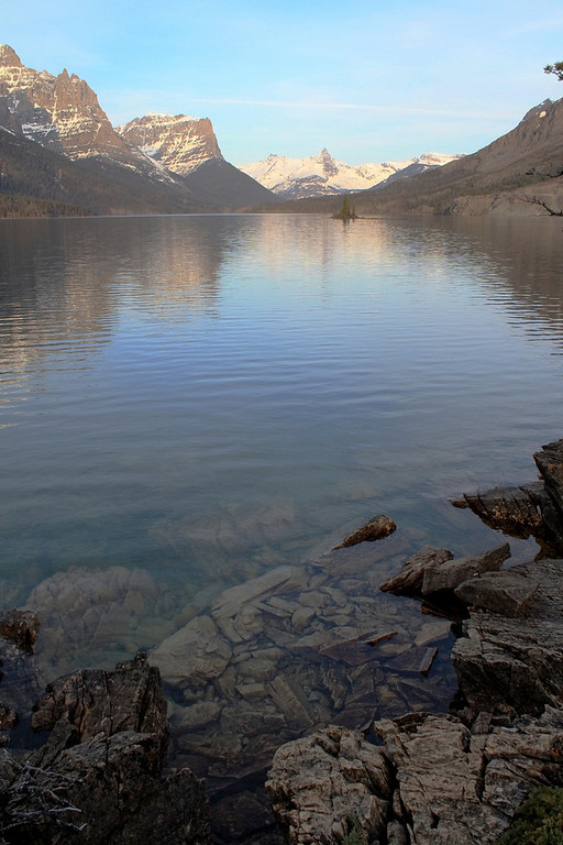 St. Mary's Lake Glacier NP