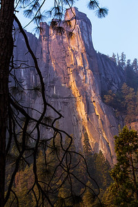 Yosemite National Park, late afternoon!
