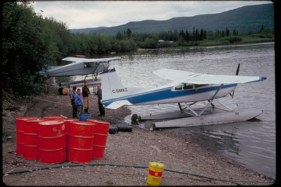 1983 - Yukon Canoe Trip - Snake River