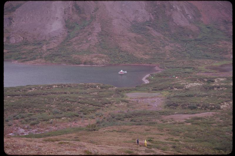 Landing Spot, headwaters of Snake River, Yukon